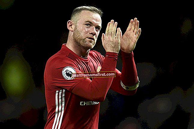 Wayne Rooney Tinggi, Berat, Umur, Statistik Tubuh