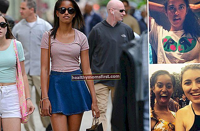 Malia Ann Obama Tinggi, Berat, Umur, Statistik Tubuh
