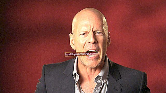 Bruce Willis Tinggi, Berat, Umur, Statistik Tubuh
