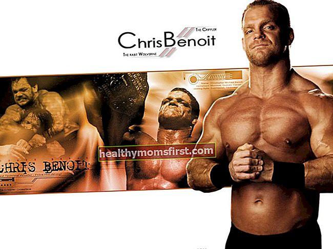Chris Benoit Tinggi, Berat, Usia, Statistik Tubuh